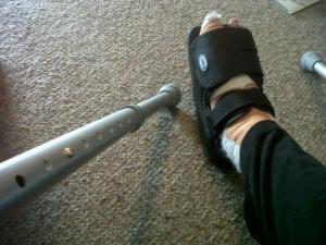 bunion boot